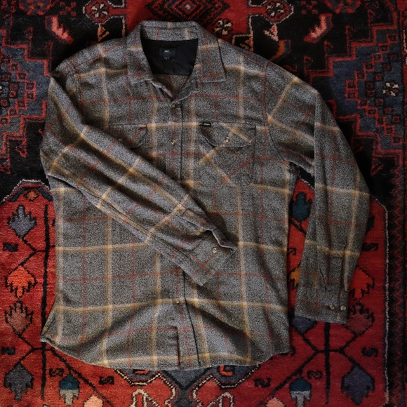 Obey Other - Obey Gray Flannel Shirt
